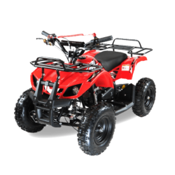 Квадроцикл детский бензиновый MOTAX ATV Х-16 Мини-Гризли с электростартером и пультом красный  (пульт, задний привод, до 45 км/ч)